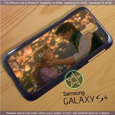 Rapunzel and Flynn Tangled iPhone 4/4S/5, Samsung S4/S3/S2 case cover | sedoyoseneng - Accessories on ArtFire
