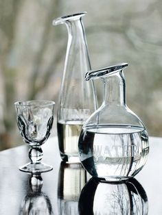Water & Wine Carafes from Food52 Provisions