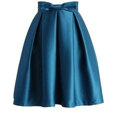 Sweet Your Heart Pleated Skirt in Sapphire Blue ❤ liked on Polyvore featuring skirts, blue polka dot skirt, travel skirt, polka dot skirt, blue skirt and knee length pleated skirt