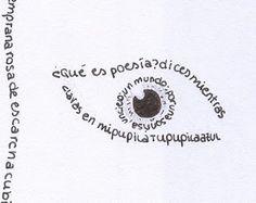 El caligrama: es un tipo de poesía para mirar y contemplar además de leer; en el caligrama, el poeta escribe y va dibujando con las palabras algo alusivo al texto.