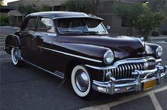1950 DESOTO CUSTOM SEDAN Dad had a light blue '50 or '51 semi automatic that I got my license in.