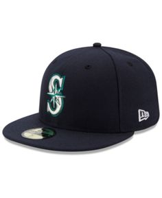 fcd4c1d5ff4 New Era Kids  Seattle Mariners Authentic Collection 59FIFTY Cap - Blue 6 1 2