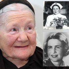 Irena Sendler got permission to work in the Warsaw Ghetto as a plumber. She courageously smuggled babies in her tool box and carried larger children in her sack. She also trained her dog to bark when the Nazi soldiers were near, which muffled the sounds of the crying children. She helped save more than 2,500 children & was eventually caught & tortured. Sendler was nominated for the Nobel Peace Prize along with Al Gore, who won for his presentation on global warming...but she is a HERO!
