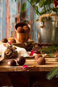 Cómo hacer trufas de chocolate - Megasilvita