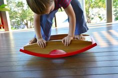 A balance board - would this help with winter blues