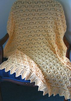 Starflower Estonian Lace - Potential baby blanket for Jocelyn