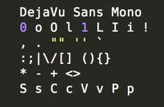 Slant - DejaVu Sans Mono - What are the best programming fonts? Open Source Fonts, Good Things, San, Programming, Image
