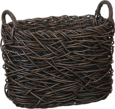 Nest Weave Storage Magazine Basket | Crate and Barrel