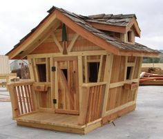 Tree Houses - Country Playhouse