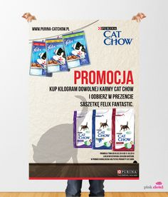 CAT CHOW - promo KV.