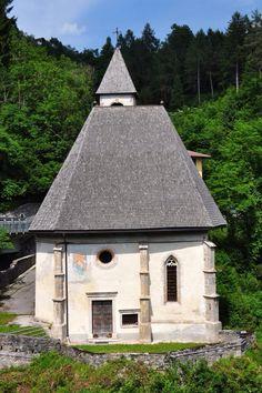 Chiesa della Beata Vergine Molinà Domegge di Cadore Belluno Dolomiti Veneto Italia