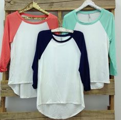 Cute baseball tees