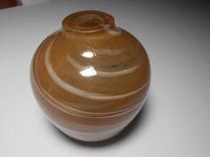 swirl Teardrop bud base,  handblown vase, swirl glass, teardrop vase, art glass vase by tjmccarty on Etsy