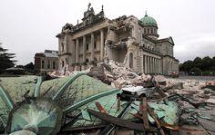 Earthquake rocked Christchurch, New Zealand