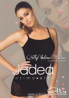 Per Jadea intimo ai 2015/2016 La classe dell'intramontabile nero e i nuovissimi colori moda Londra, Mosto e Blu. Top dalla bella ed ampia balza di pizzo elastico. Scopri anche la versione spalla larga.  #top #jadea #moda http://www.atyintimoonline.it/intimo-jadea/4077-canottiera-jadea-4317.html