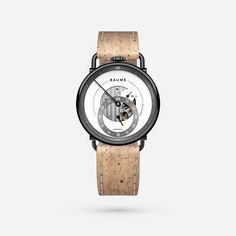 Custom Automatic with Natural Cork Strap Communication Methods, French Signs, Tomorrow Will Be Better, Make Time, Cork, Watches For Men, Natural, Top Mens Watches, Corks