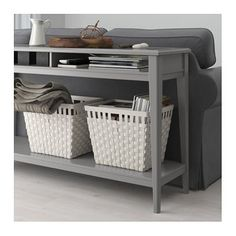 IKEA LIATORP console table Can be placed behind a sofa, along a wall, or be used as a room divider.