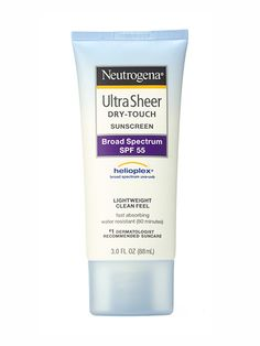 Neutrogena Ultra Sheer Dry-Touch Sunscreen Broad Spectrum SPF 55