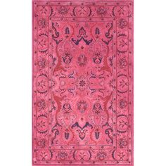 Found it at AllModern - Remade Kimberly Overdyed Style Area Rug  2.6 x 8 RUNNER