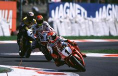 Fogarty leads Edwards and Chili at Monza in 1999. | WSBK 2005 | Crash.Net