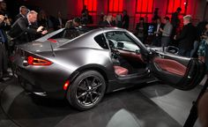 View 2017 Mazda MX-5 Miata RF: The Fastback You've Been Waiting For, Only Better Photos from Car and Driver. Find high-resolution car images in our photo-gallery archive.
