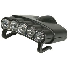Cyclops Orion 5 Hat Clip Light With 5 Clear Led Lights