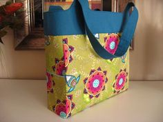 Kerri Made's Sturdy Tote Bag - Free Sewing Tutorial