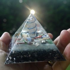 Orgonite Pyramid  Orgone Energy Generator  with by 432oneness, $55.55