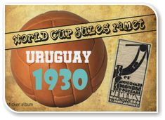 World Cup Jules Rimet, Uruguay 1930 Fifa World Cup, Magick, Trading Cards, Uruguay