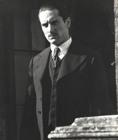 "Robert De Niro in ""The Godfather part II"""