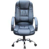 Cadeira Presidente MB-C300 Giratória Base Cromada Preto – Travel Max Por R$ 378,31 no boleto