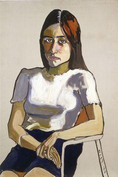 "ALICE NEEL - ""Nancy Selvage"" (1966) *"
