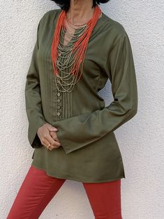 Polo shirts on sales - Quilted Jackets - Sustainable Fashion Silk Shawl, Long Sleeve Polo, Green Fashion, Cotton Blouses, Quilted Jacket, Womens Scarves, Sustainable Fashion, Soft Fabrics, Blouses For Women