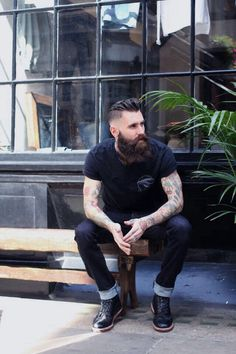 People. Faces. Guys. Men. Confidence. Style. Cool. Classic. Leather. Textures. Layers. Indie. Dapper. Rugged. Beards. Hair. Skin. Beauty. Man Buns. Tees. Suit + Tie. Artistic. Tattoos. Piercings. Body. Features. Athletes. Selfies. Denim. Clean Cut. Distinguished. Tattoos. Jawlines. Eyes. Strong.