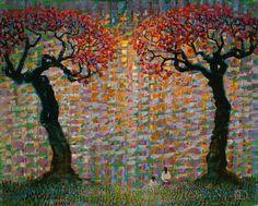 Голландский художник Тон Дюббельдам (Ton Dubbeldam). Обсуждение на LiveInternet - Российский Сервис Онлайн-Дневников Dutch Painters, Abstract Landscape