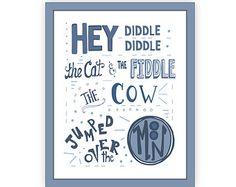 nursery rhyme idea