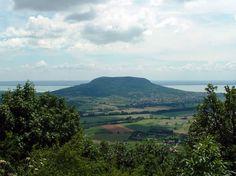 Badacsony Hill and Lake Balaton. Hungary