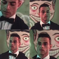 Mr. Robot s.1//ep.4 I know he's supposed to be tripping out but he looks so good rn and I just