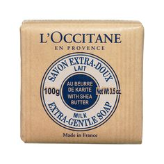 The nicest soap in the world - l'occitane