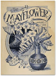 The Mayflower magazine (via Letterology)