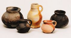 Medieval pottery from Middelburg, Netherlands
