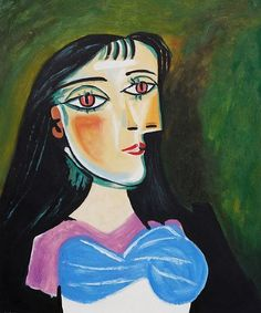 Pable Picasso Sunflowers Painting   ... pablo picasso art id 7160 pablo picasso portrait of a women painting