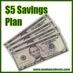 $5 Savings Plan