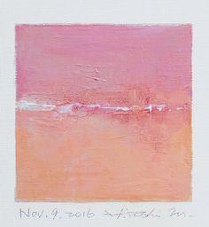 Il sagit dune peinture à lhuile abstraite Original par Hiroshi Matsumoto Titre : 9 novembre 2016 Taille : 9,0 cm x 9,0 cm (env. 4 « x 4 ») Taille du canevas : 14,0 cm x 14,0 cm (env. 5,5 « x 5.5 ») Médias : Huile sur toile Année : 2016 Il sagit de ma peinture quotidienne appelée peinture 9 x 9 et le titre est la date que jai créé cette peinture. Peinture vient avec des nattes. Peinture est dépoli et en écru pour adapter le cadre standard 8 pouces x 10 pouces (non fourni) et livré avec le ...