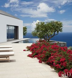 Charles Gwathmey's St. Barts Paradise : Interiors + Inspiration : Architectural Digest