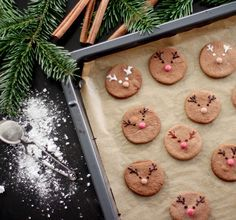 Rudolph, The Red Nosed Reindeer - Cookies