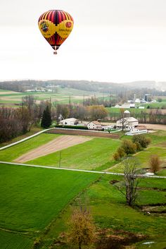 Ballooning Lancaster County