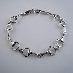 Classic Snaffle Horse Bit Bracelet