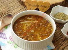 Erişteli Yeşil Mercimek Çorbası Resimli Tarifi - Yemek Tarifleri