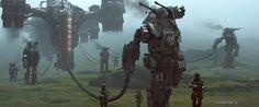 robot, mech